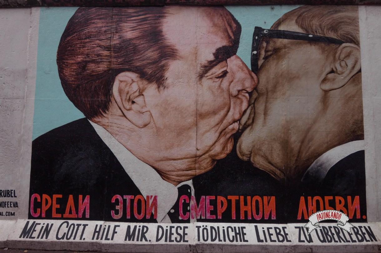 que ver y que hacer en Berlín - East Side Gallery- Muro de Berlín - Patoneando blog de viajes (1)