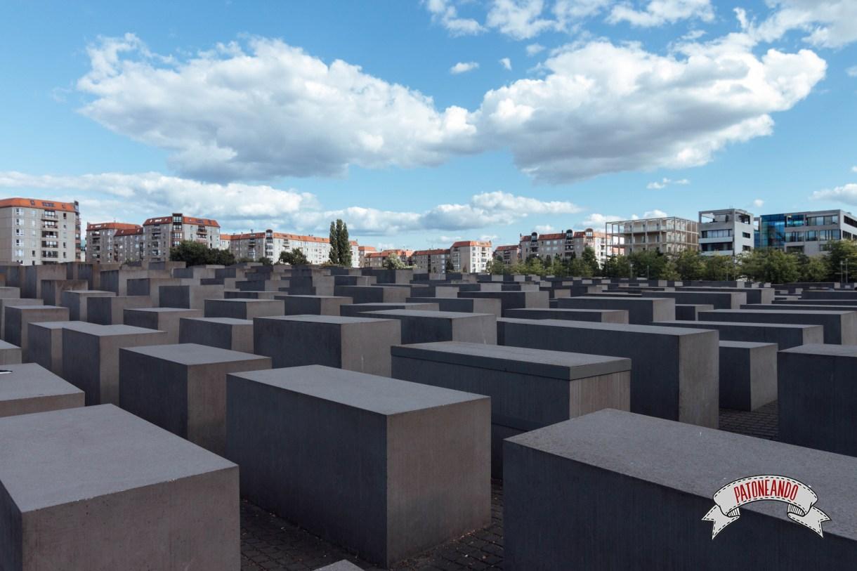 que ver y que hacer en Berlín - monumento holocausto - Patoneando blog de viajes (8)