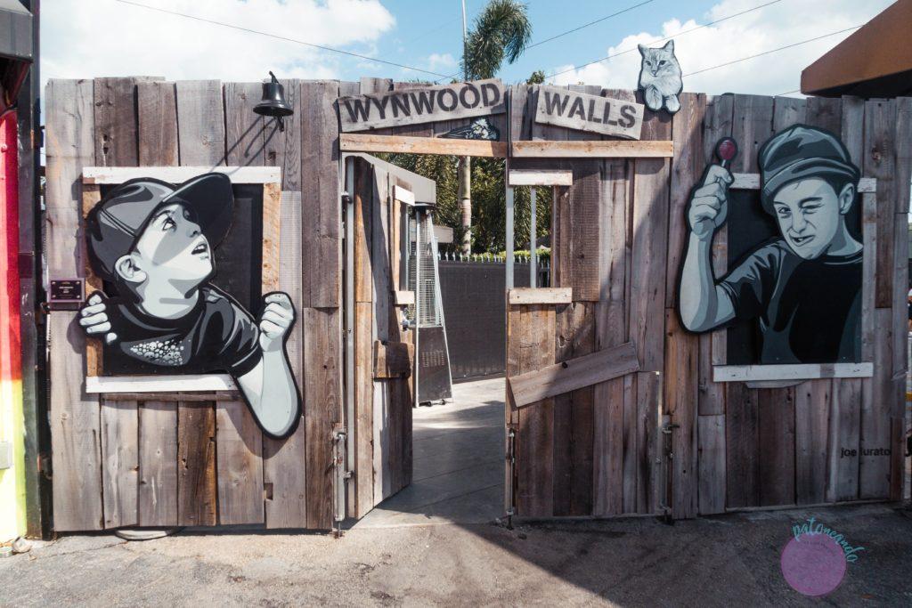 que hacer durante una escala en Miami - Wynwood grafittis - Patoneando blog de viajes