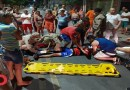 Comerciário fratura perna após colisão de carro com moto em Sousa