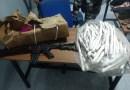 Polícia apreende explosivos e réplica de fuzil na cidade de Campina Grande