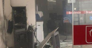 Bandidos explodem agência do banco Bradesco no Sertão, na noite dessa sexta-feira (29)