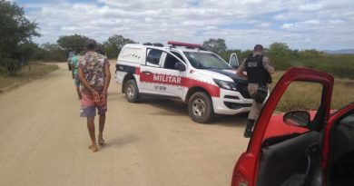Homem suspeito da prática de furto de animais é preso pela polícia no Sertão
