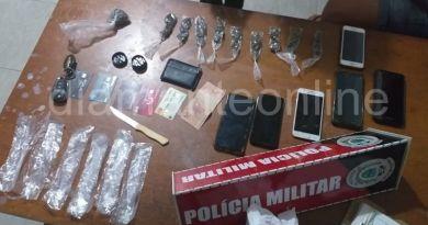 Homem é preso com substâncias semelhante à maconha no Vale do Piancó
