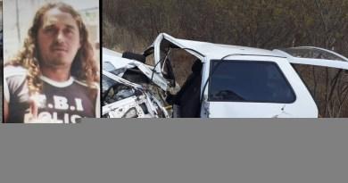 Acidente nas proximidades de Quixaba-PB, deixa homem morto
