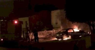 Carro de presidente da Câmara de Diamante é incendiado durante madrugada