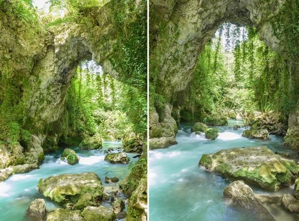 Θεογέφυρα: Το θαύμα της φύσης στη Ζίτσα (pics+video)