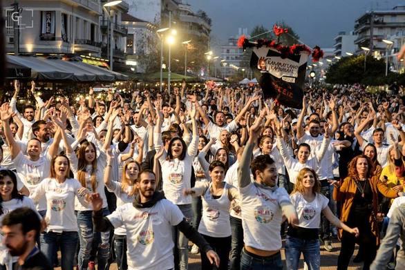 Το Καρναβάλι της Πάτρας πάει για το δικό του ρεκόρ Γκίνες στο χορό - Όλα είναι έτοιμα...