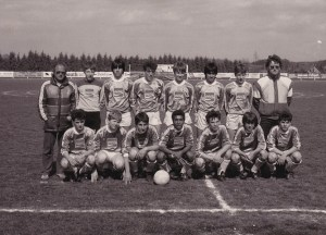Les J3 Amilly en 1984/1985. entraînés par Jef Laurent