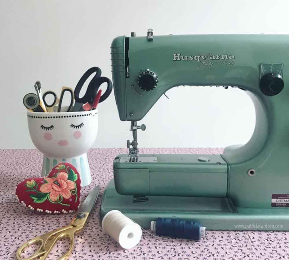 maquina de costura antiga Husqvarna