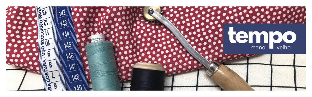costurando blusa de viscose