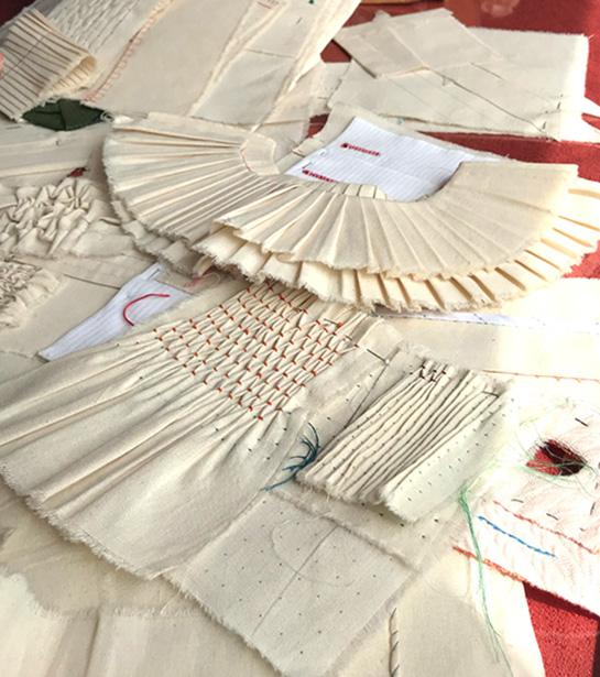 costura a mão
