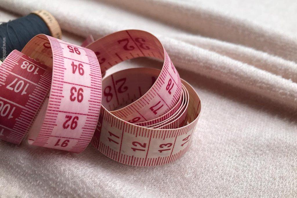 fita métrica para costura