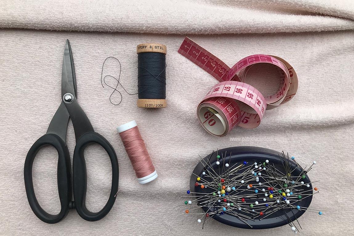 kit de costura para iniciantes