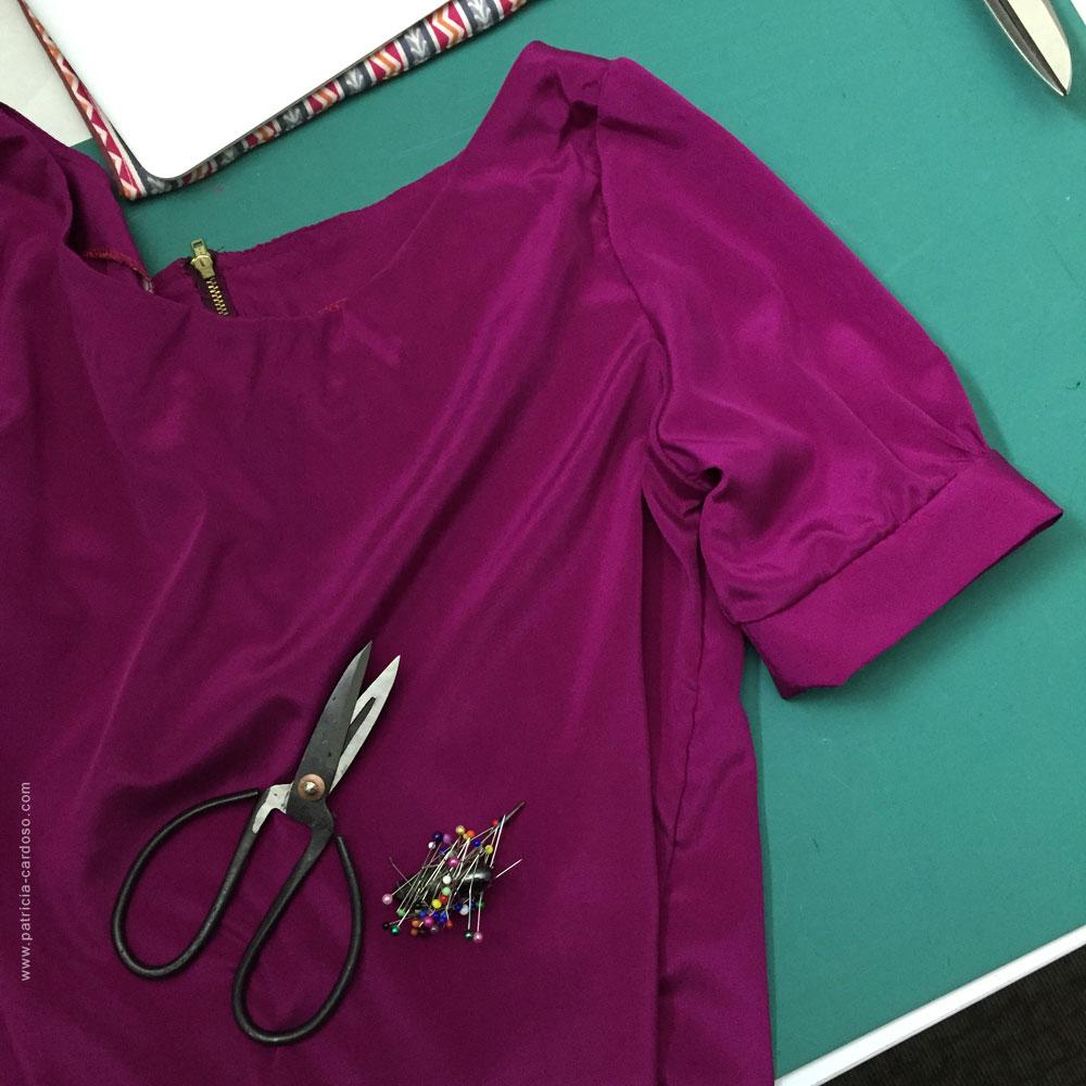 blusa de seda   Patricia Cardoso