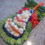 Themed Veggie Platter Extraordinaire