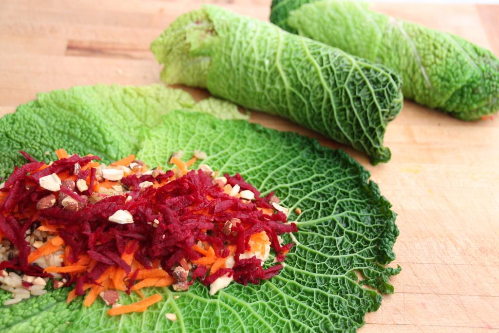 Cabbage Leaf Wraps 007