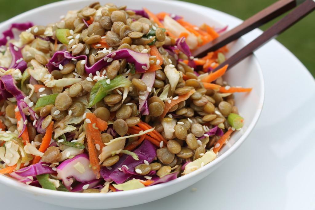 Sesame Lentil Salad 002