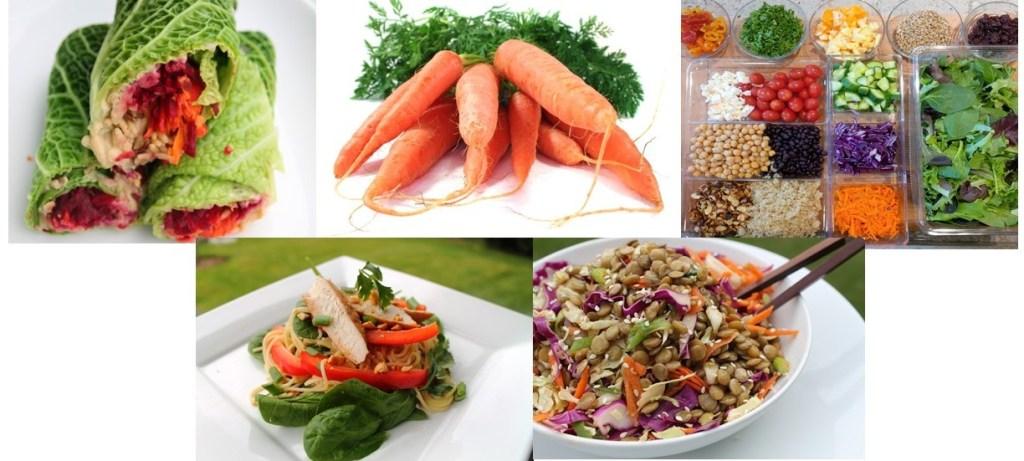 veggie-collage