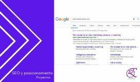 SEO y posicionamiento de páginas web
