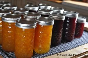 peach and plum jam