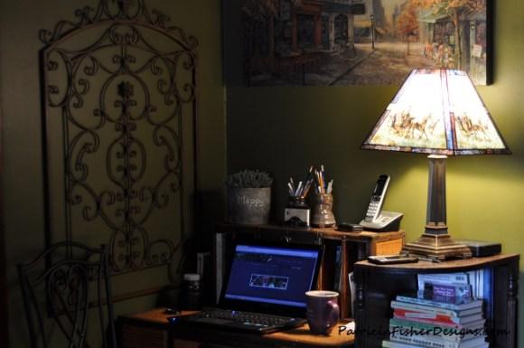 my blogging desk