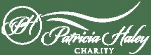 Patricia Haley Charity white logo