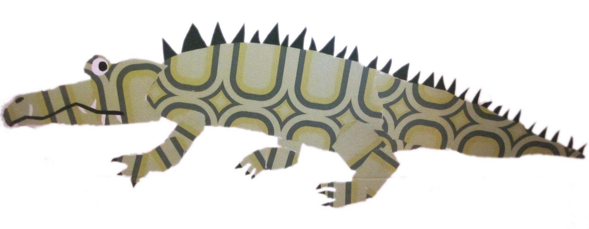behangbeest-krokodil