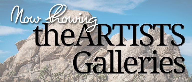 now showing theARTISTS Galleries
