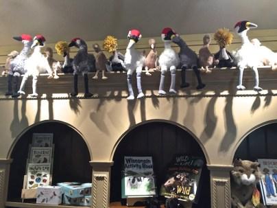 stuffed crane toys