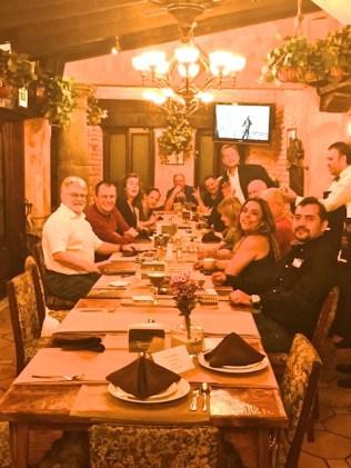 dinner mexico 2018