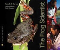 BOOK TALK:  THE FROG SCIENTIST by Pamela S. Turner