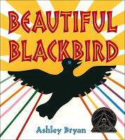 #PictureBookMonth Theme: Folktales :|: Read Beautiful Blackbird by Ashley Bryan #literacy