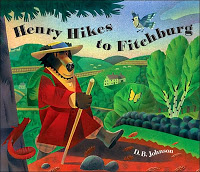 Heroes: Henry Hikes to Fitchburg #picturebookmonth #literacy #lrnchat