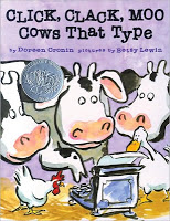 #PictureBookMonth – Click, Clack, Moo: Cows That Type #literacy #edchat #lrnchat #preschool