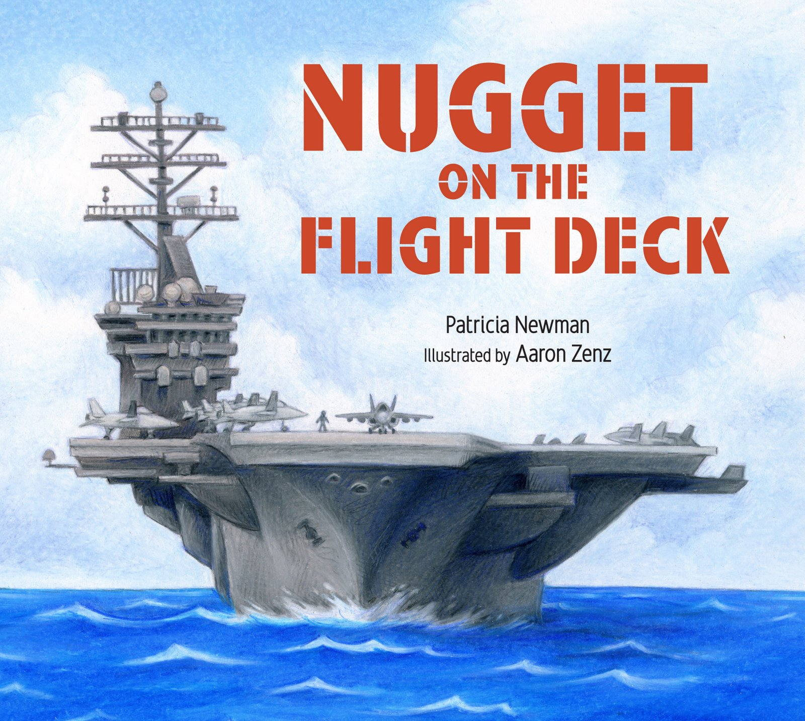 Mrs. Payton's 3rd grade class responds to Nugget on the Flight Deck #3rdchat #ccsschat #titletalk #militaryfamilies