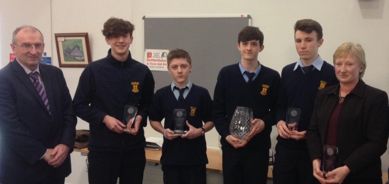 Junior Applied Maths team win All-Ireland title
