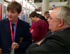 Evan Mather Achieves Highly Commended at Young Scientists 2018