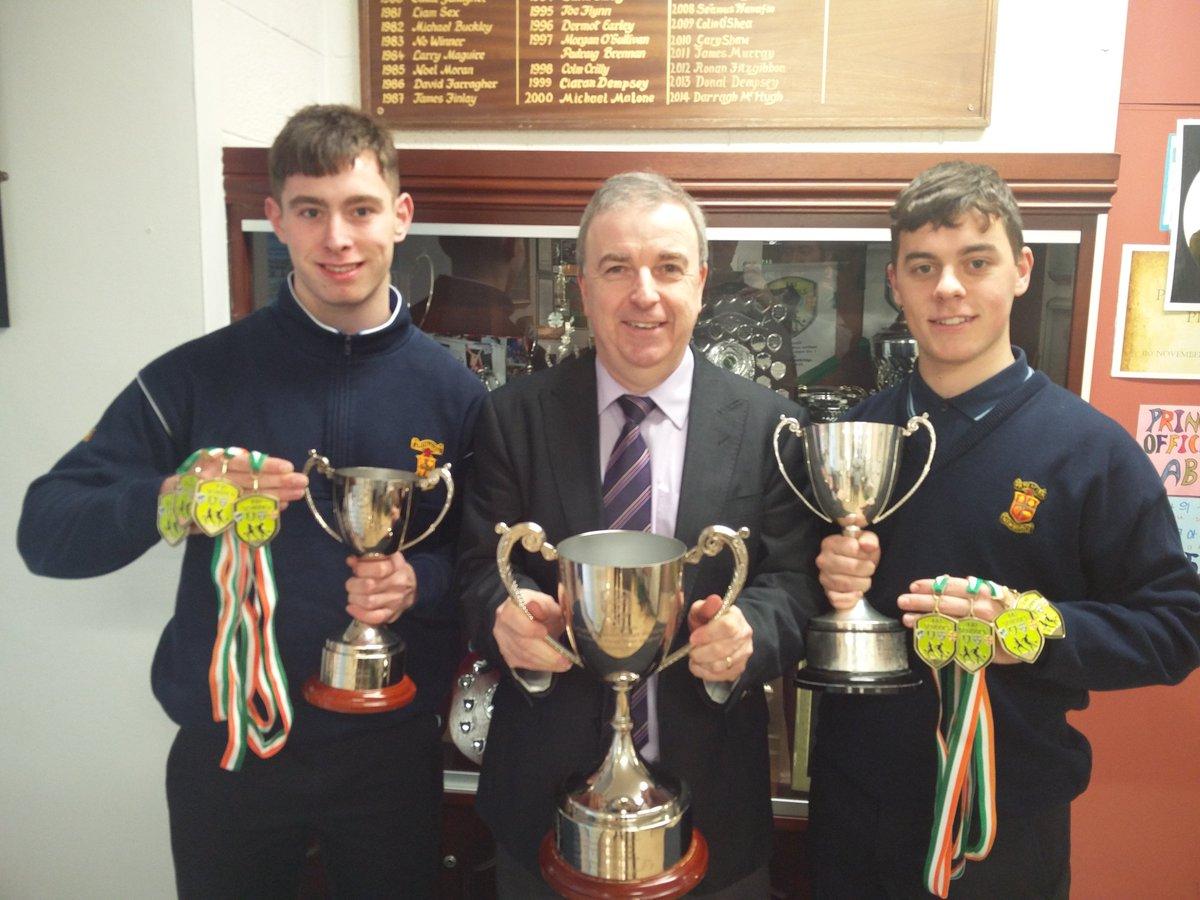 Meehan & Hughes Claim Unique Midlands Achievement