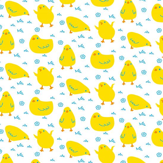 Ostern Surface Design Muster Kinder easter chicks