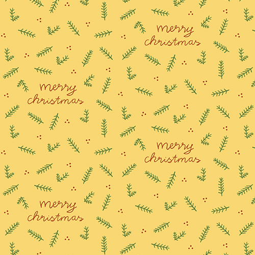 Weihnachten Muster Surface Design Merry Christmas