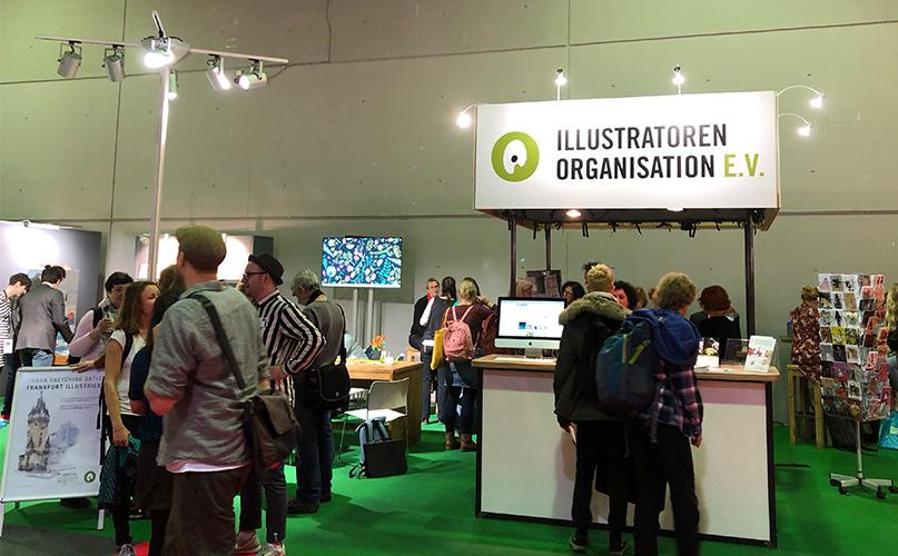 Frankfurter Buchmesse 2019 Illustrator Info Stand
