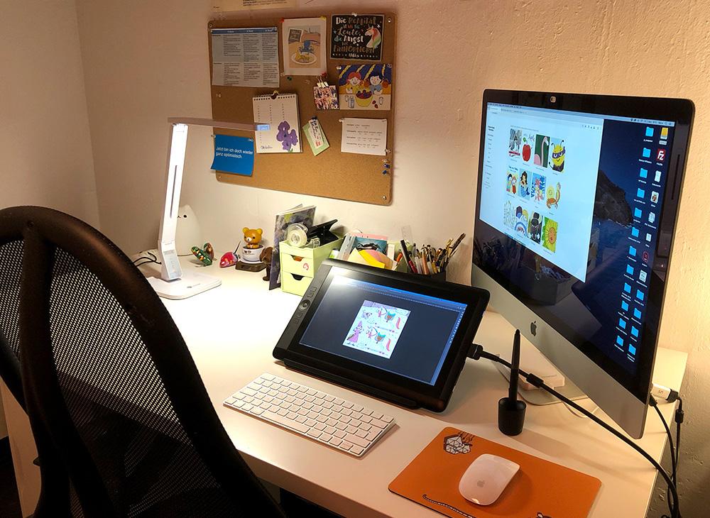 Design Illustration Arbeitsplatz Patricia Oettel Illustration 2019