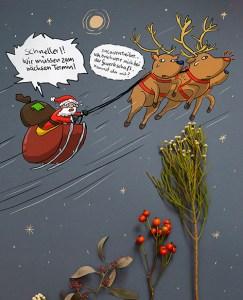Weihnachten als Geschäft Kreativ Challange Tag 5 Gewerkschaft
