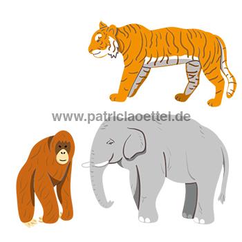 Grafik 4 Lebensraum der Tiere Abenteuer Regenwald Palmöl