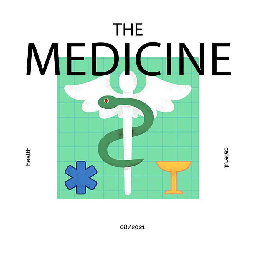 Beispielbild Magazine Medizin Patricia Oettel Illustration