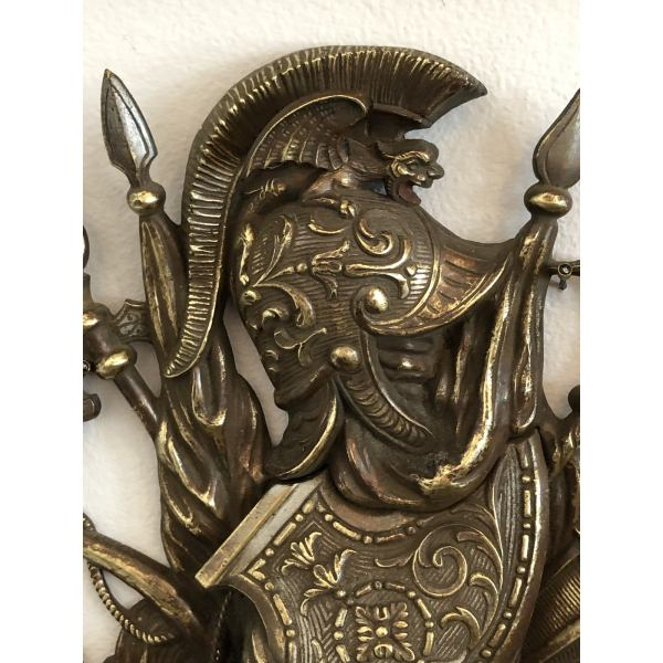 antique-bronze-trophy-shield-with-helmet-and-attributes-plaque-0130