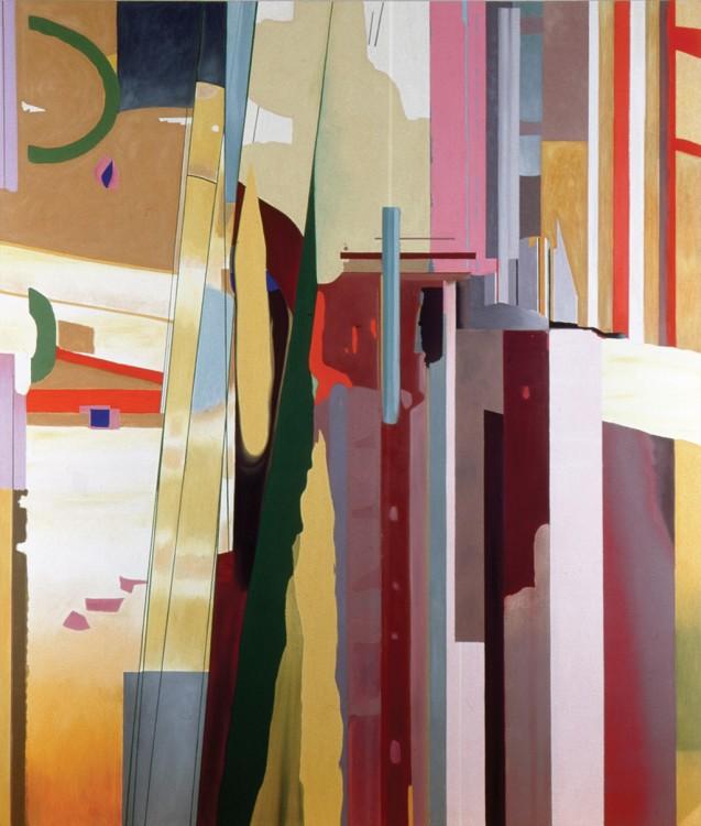 Painting #31 (Broken hill) by Patricia Wynn Davies
