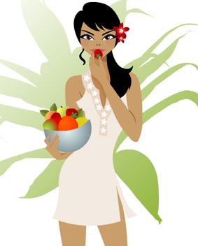 comer fruta1 - Eliminando as Gorduras!