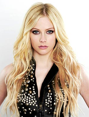 avril lavigne elle1 - As madeixas coloridas de Avril Lavigne